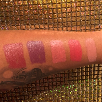 Left to right: Sugar and Spice, Vinyl Dreams, Shakedown, Strawberry Girl and Cream and Sugar