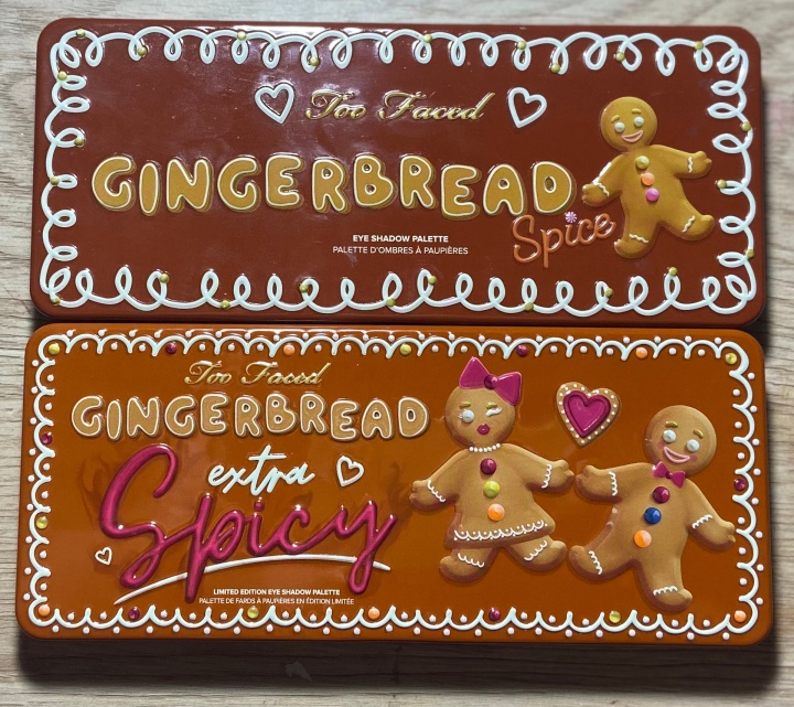 www.heran-park.com Too Faced Gingerbread Palettes